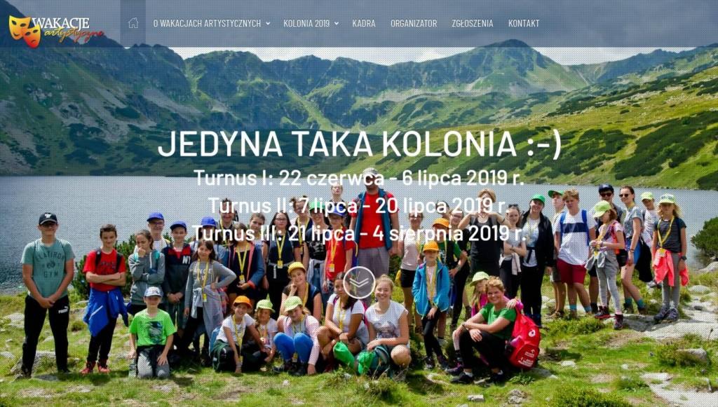 """Screenshot WA2019 HERO 1024x581 Kolonia artystyczna """"Wakacje Artystyczne"""" z uczestnikami X Factor i The Voice of Poland już po raz kolejny!"""